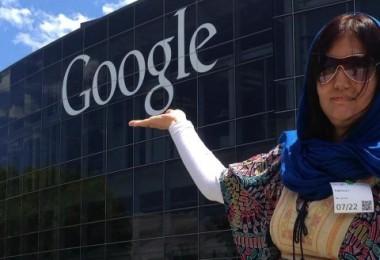 فخریه در دفتر مرکزی گوگل